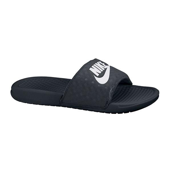 Nike Benassi Jdi  Black Flip Flops - Women