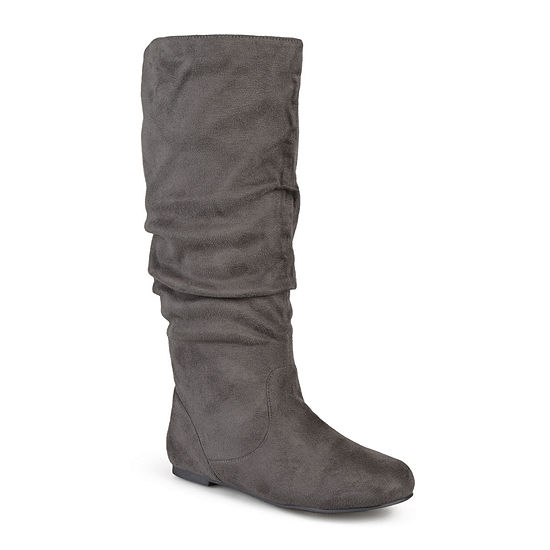 Journee Collection Womens Rebecca Wide Calf Slouch Boots
