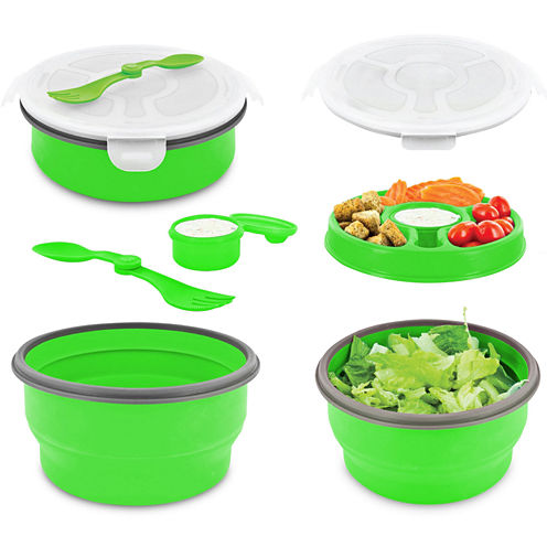 Smart Planet 65-oz. Collapsible Salad Bowl