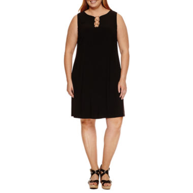Msk Sleeveless Sundress-Plus