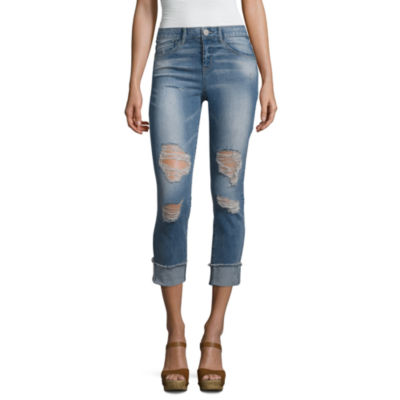 Rewind Womens Skinny Fit Jean - Juniors