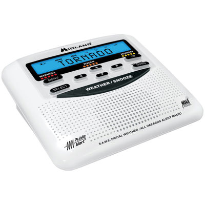 Midland WR-120B Desktop Weather Alert Radio