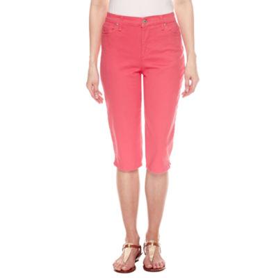 Gloria Vanderbilt Amanda Skimmer Cropped Jeans-Petites