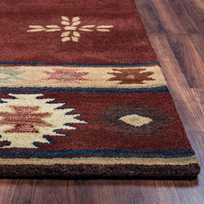 Rizzy Home Southwest Tribal Rectangular Indoor Area Rug