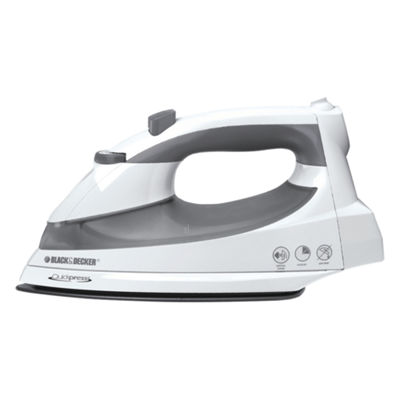 Black & Decker® Quickpress Iron with Smart Steam Technology