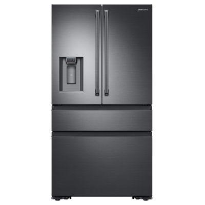 Samsung ENERGY STAR® 22.6 cu. ft. Counter-Depth 4-Door French-Door Refrigerator with Polygon Handles
