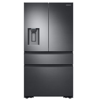 Samsung ENERGY STAR® 22.6 cu. ft. Counter-Depth 4-Door French-Door Refrigerator with Recessed Handles