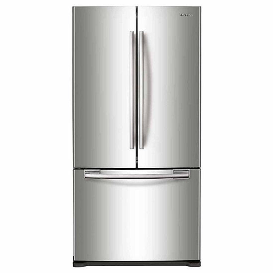 Samsung 33 Wide 175 Cu Ft Counter Depth French Door Refrigerator