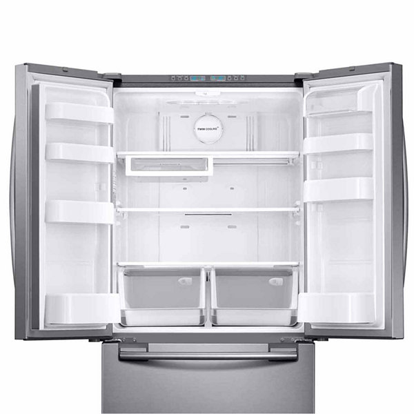 Samsung 33 Wide 17 5 Cu Ft Counter Depth French Door Refrigerator. Best  Ratings And Reviews 2016