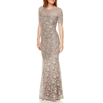 Lace long sleeve dress for formal wear in az