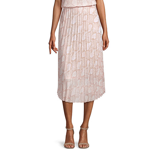 Worthington Womens Midi Skirt