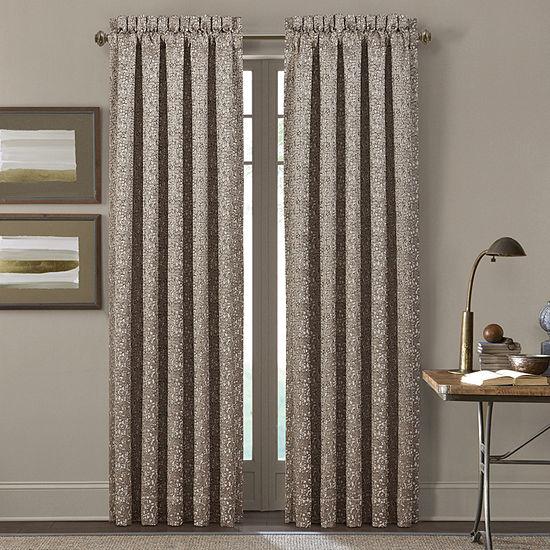 Queen Street Calgary Room Darkening Rod-Pocket Set of 2 Curtain Panel