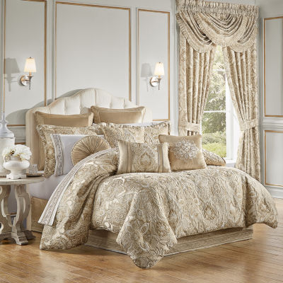 Queen Street Sandy 4-pc. Jacquard Heavyweight Comforter Set