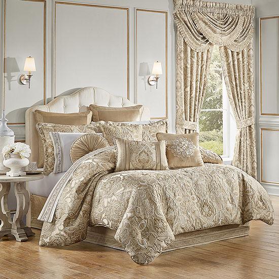 Queen Street Sandy 4-pc. Jacquard Heavyweight Comforter Set