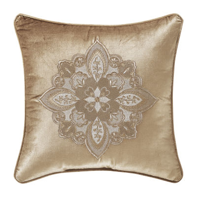 Queen Street Sandy  18x18 Square Throw Pillow