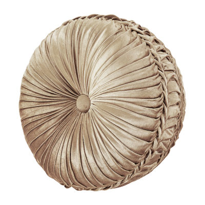 Queen Street Sandy Tufted Round Throw Pillow