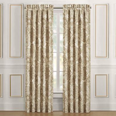 Queen Street Sandy Room Darkening Rod-Pocket Set of 2 Curtain Panel