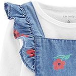 Carter's - Baby Girls Long Sleeve Jumper