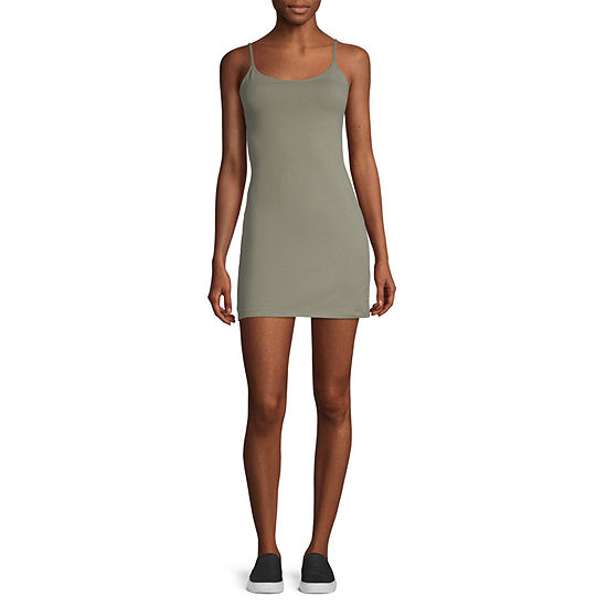 Arizona-Juniors Sleeveless Bodycon Dress