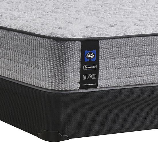 Sealy Retford Posturepedic Spring Firm Tight-Top Mattress + Box Spring