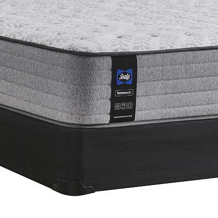 Sealy Retford Medium Pillow Top - Mattress + Box Spring, Twin, Gray