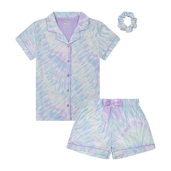 Sleep On It Little & Big Girls 2-pc. Shorts Pajama Set