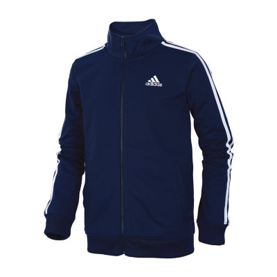 adidas Big Boys Midweight Track Jacket