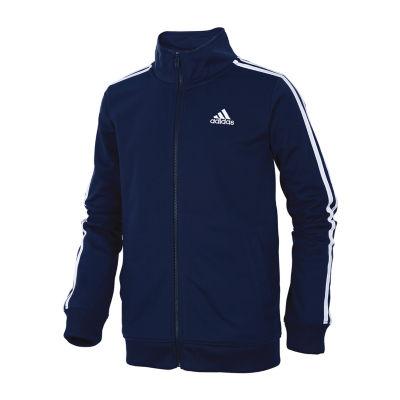 adidas Big Boys Midweight Track Jacket