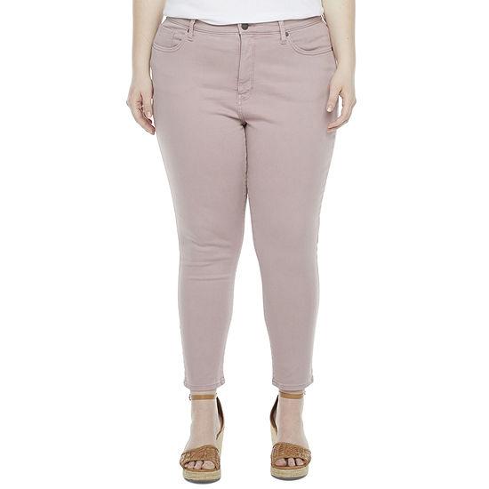 a.n.a - Plus Ankle Denim Womens High Rise Skinny Fit Jean
