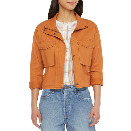 a.n.a Womens Cropped Jacket