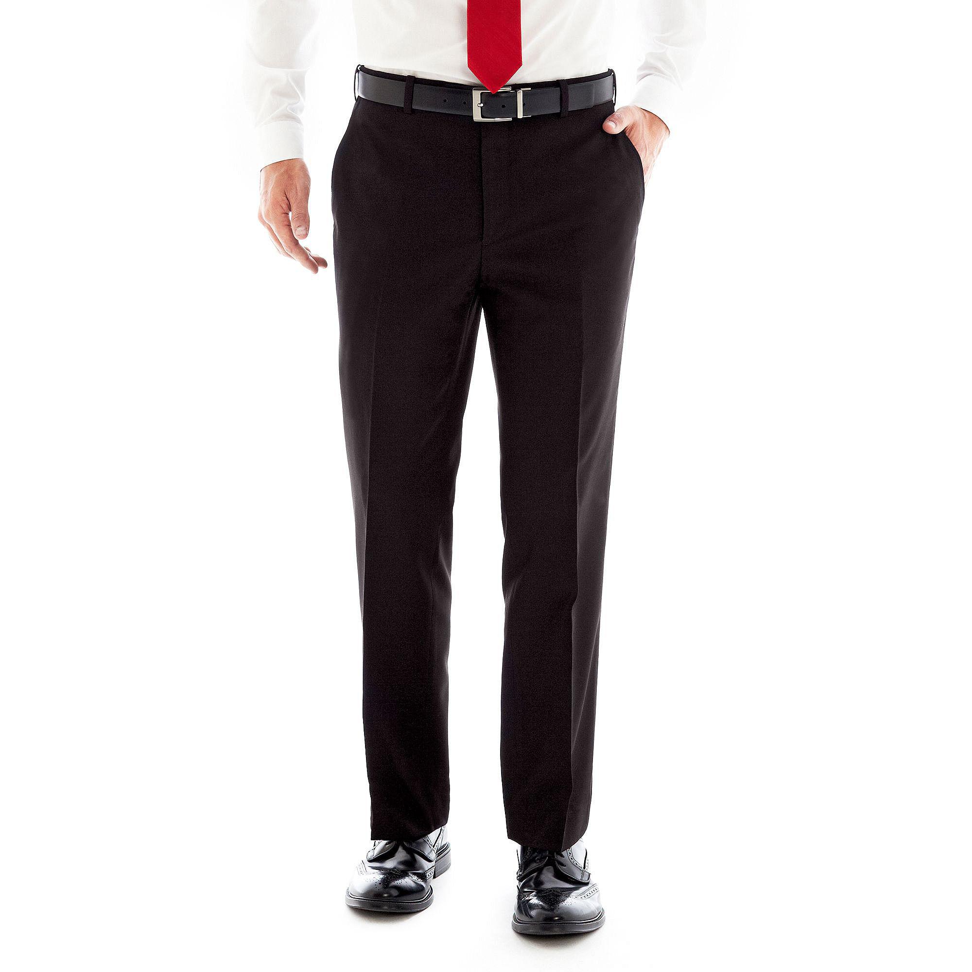 Adolfo Slim-Fit Suit Pants plus size,  plus size fashion plus size appare