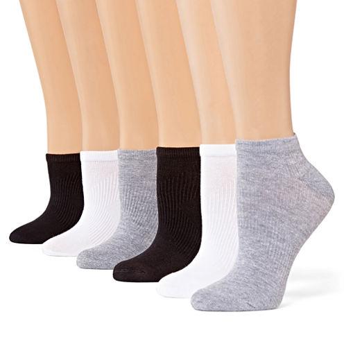 Xersion™ 6-pk. Zone Cushioned No-Show Socks