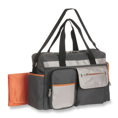 Graco® Duffle Diaper Bag - Tangerine