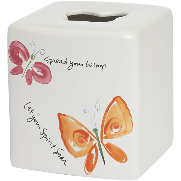 Creative Bath™ Flutterby Tissue Holder