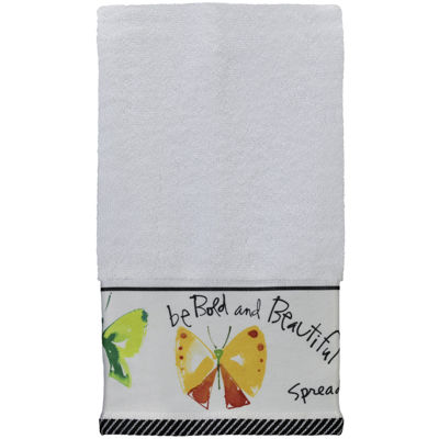 Creative Bath™ Flutterby Hand Towel