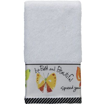 Creative Bath™ Flutterby Fingertip Towel