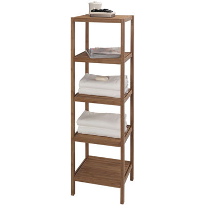 Creative Bath™ Eco Styles Bamboo 5-Shelf Tower