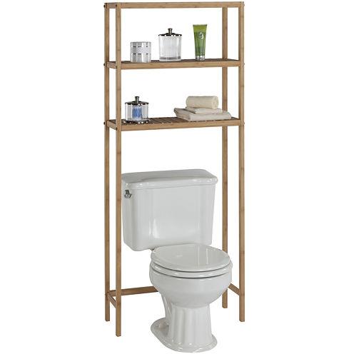 Creative Bath™ Eco Styles Bamboo 2-Shelf Space Saver