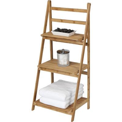 Creative Bath™ Eco Styles Bamboo 3-Shelf Folding Tower