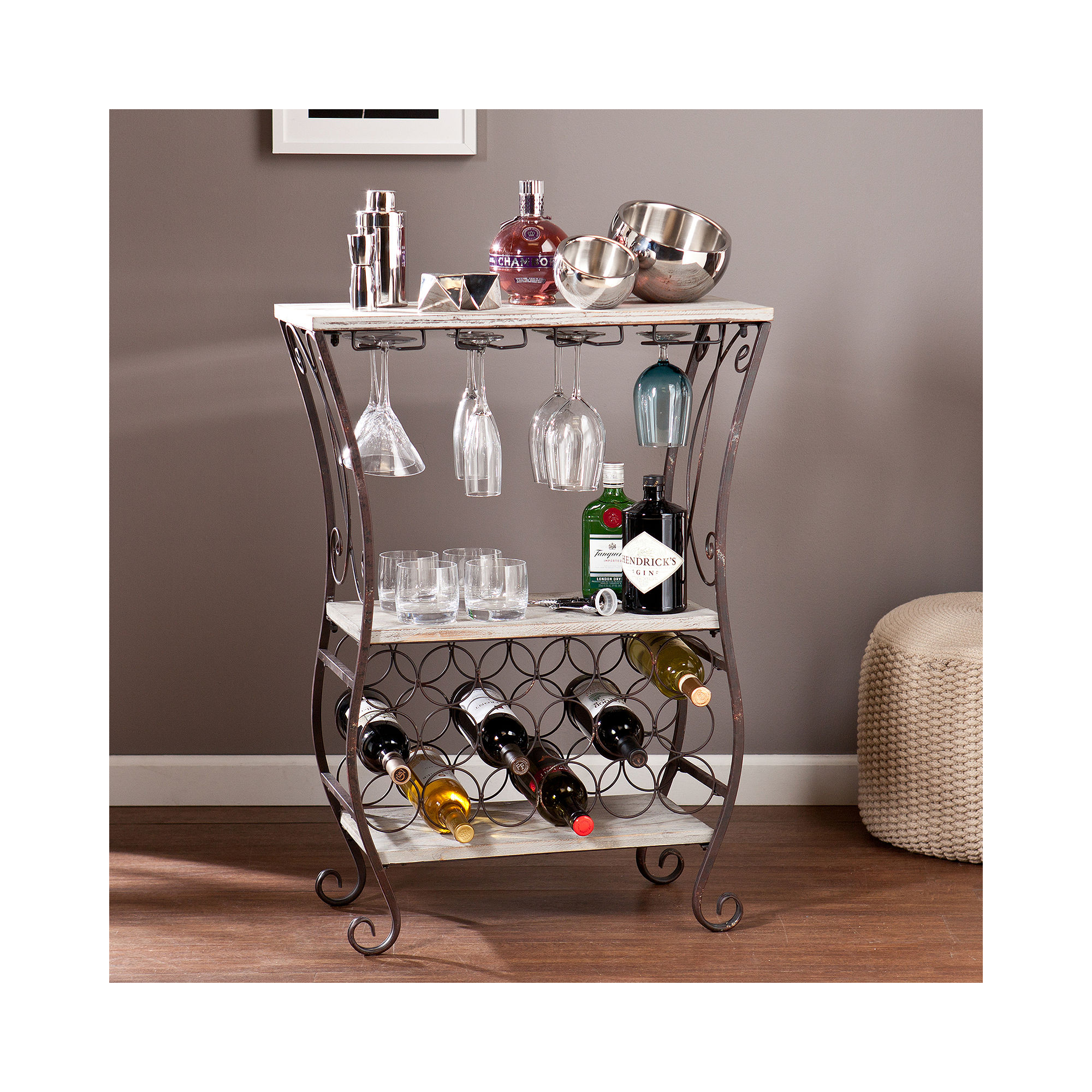 Swanson Wine Storage Table
