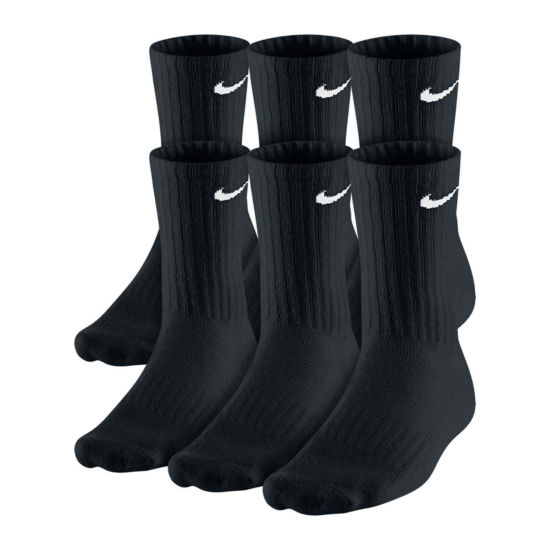 Nike® 6-pk. Performance Cotton Crew Socks