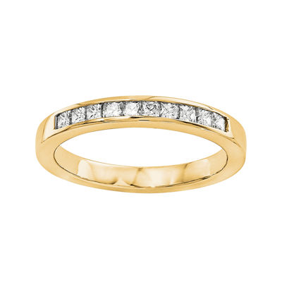1/5 CT. T.W. Diamond 14K Yellow Gold Wedding Band