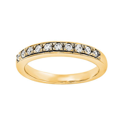 1/2 CT. T.W. Diamond 14K Yellow Gold Wedding Band