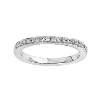 1/5 CT. T.W. Diamond 14K White Gold Wedding Band