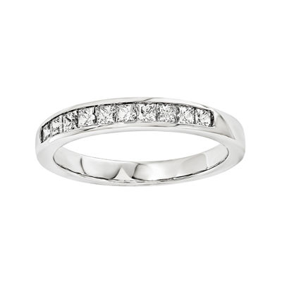 1 5 CT TW Diamond 14K White Gold Wedding Band
