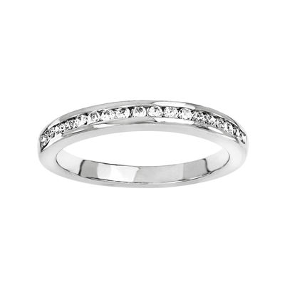 1/4 CT. T.W. Diamond 14K White Gold Wedding Band