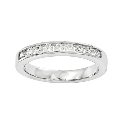 1/3 CT. T.W. Diamond 14K White Gold Wedding Band