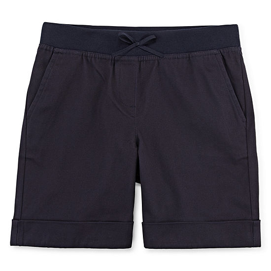 IZOD Little & Big Girls Stretch Pull-On Short