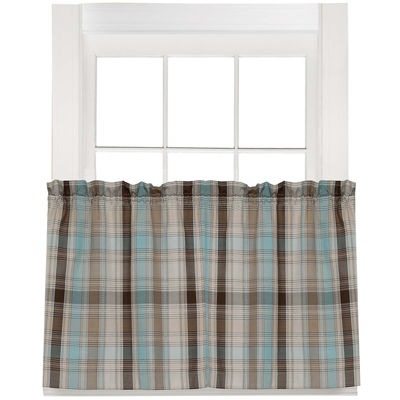 Cooper Rod-Pocket Window Tiers