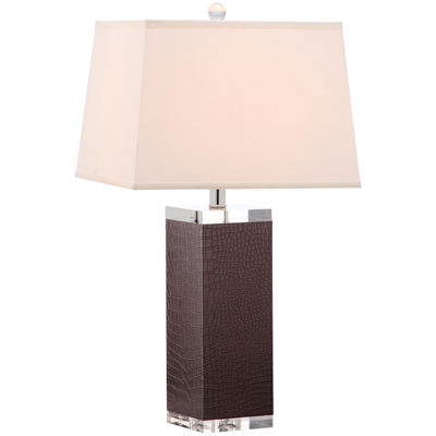 Safavieh Drake Faux-Leather Table Lamp- Set of 2